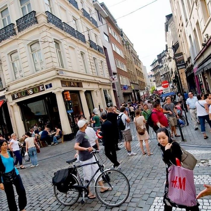 Steenstraat Muziekstraat - Rue Des Pierres Rue de la Musique