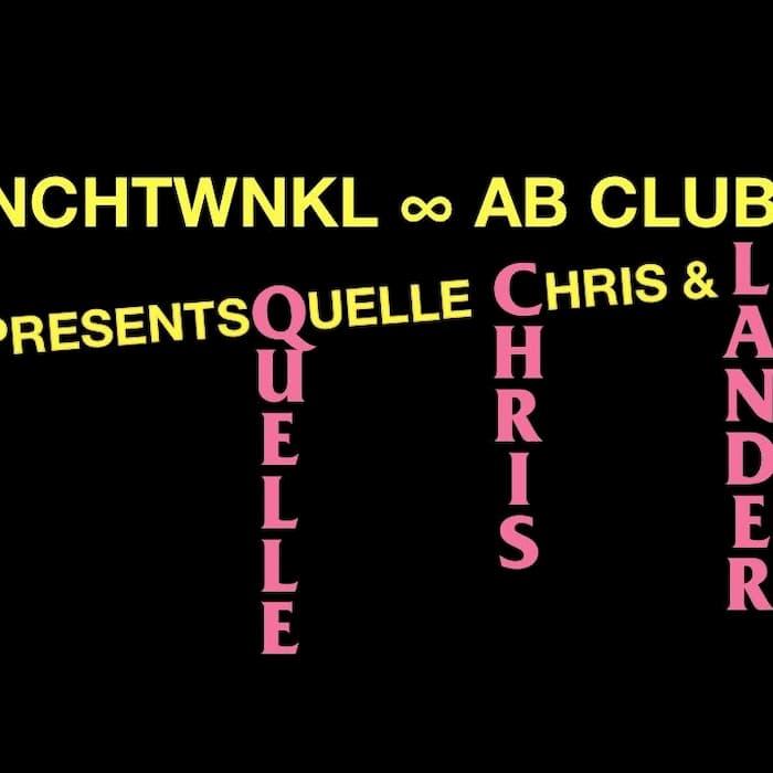 New date: Lefto presents NCHTWNKL feat. Quelle Chris + Lander Gyselinck