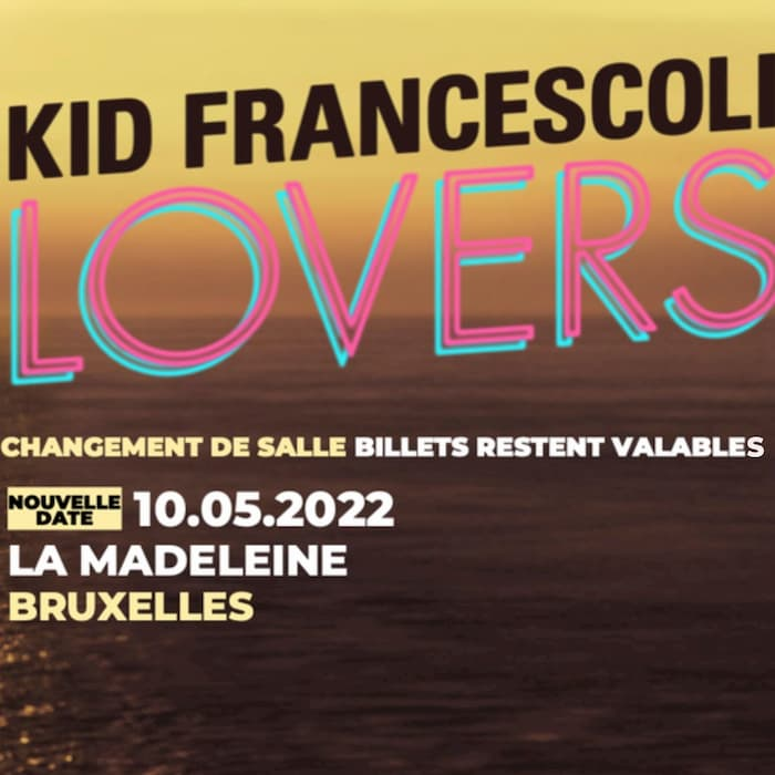 New date/New venue: Kid Francescoli